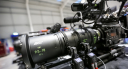 Up close of a Sony F55 camera