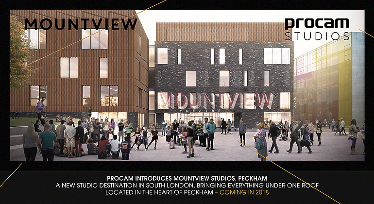 Rendering of the front entrance of Mountview