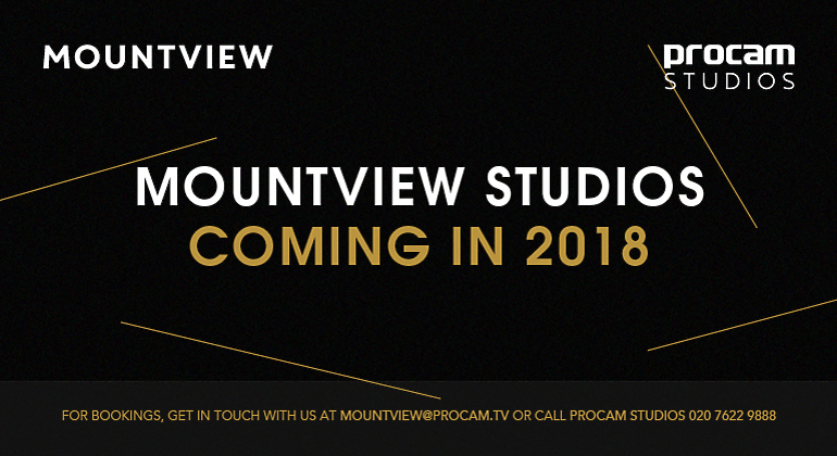 Mountview Studios, Coming in 2016 slide in a presentation
