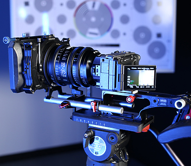 Sony FX3 Camera Body with Lens and MatteBox