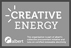 Creative Energy Albert logo